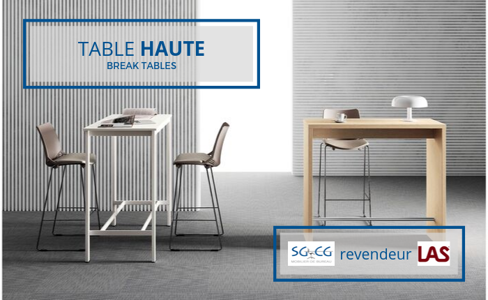 SGCG Table Haute Las Mobili - T