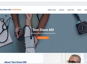 création de site internet pour professionnels de la santé