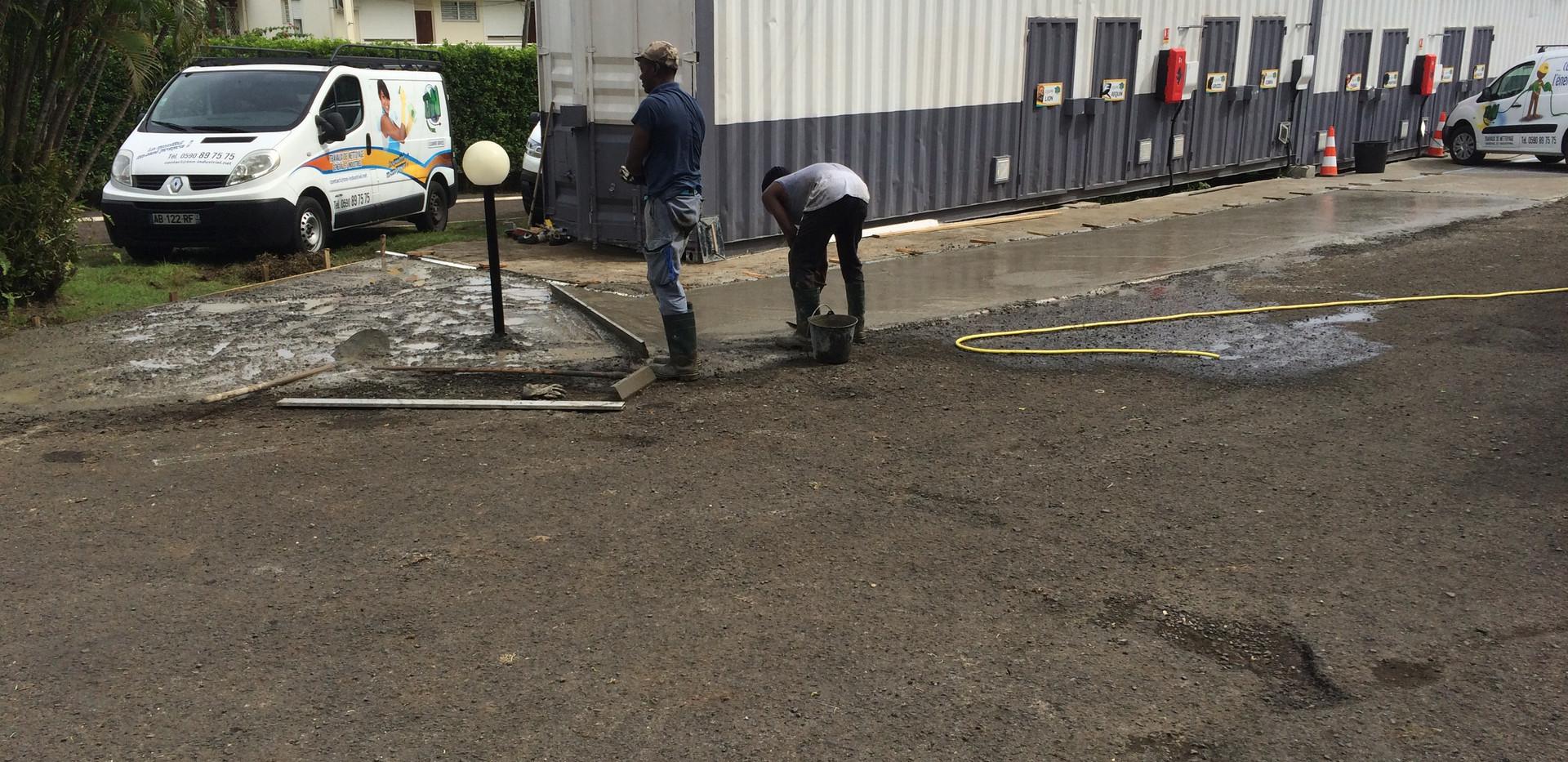 Aménagement professionnel  9 ESO BTP - Travaux de construction et rénovation - Guadeloupe