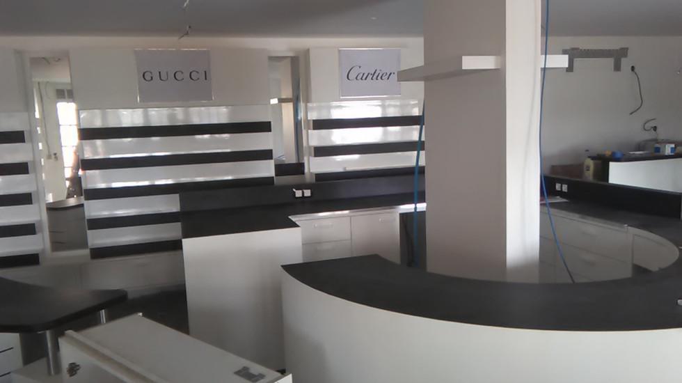magasin 3 - agencement intérieur pour professionnels - nb designer - guadeloupe