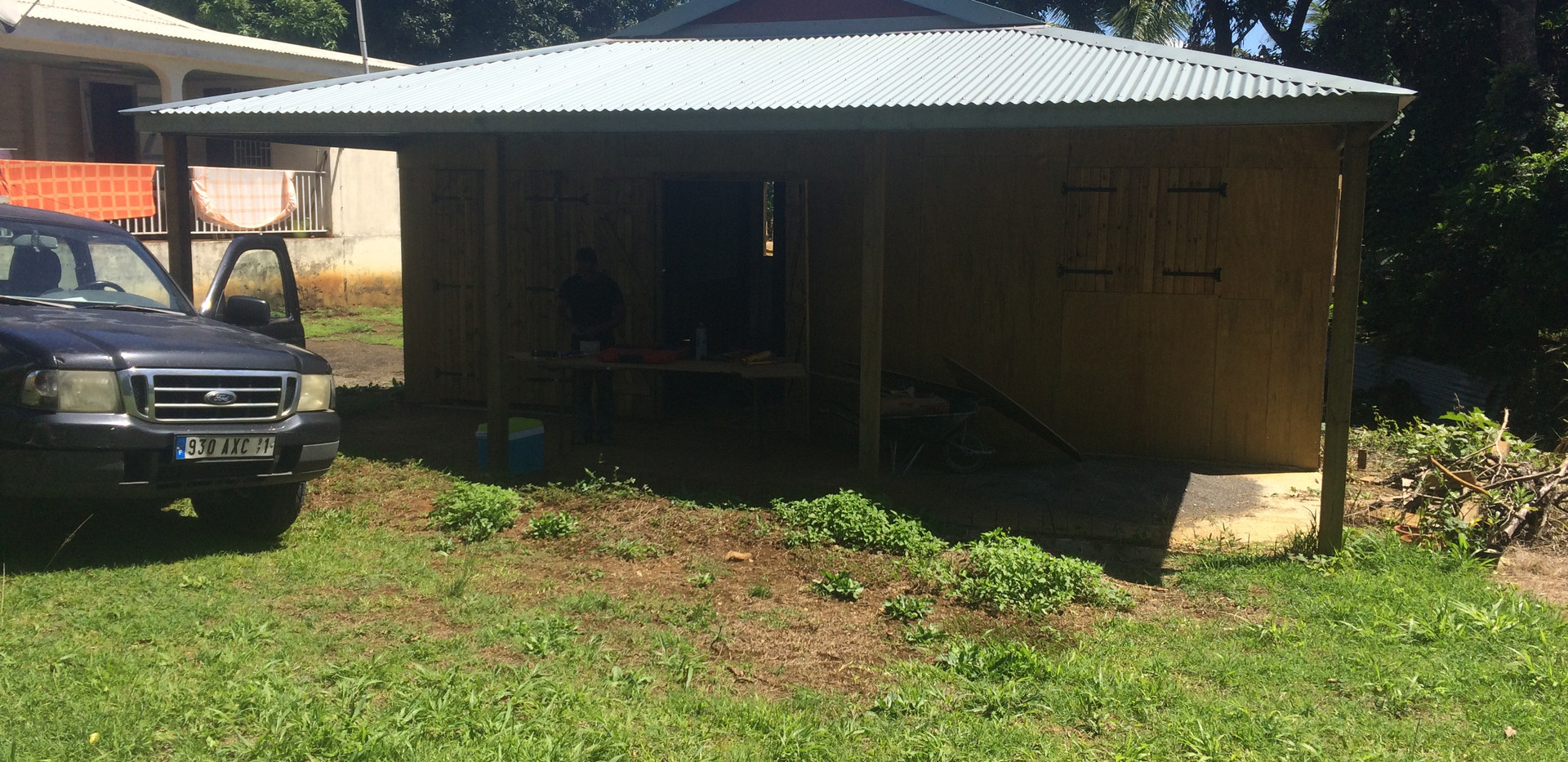 Aménagement professionnel  30 ESO BTP - Travaux de construction et rénovation - Guadeloupe