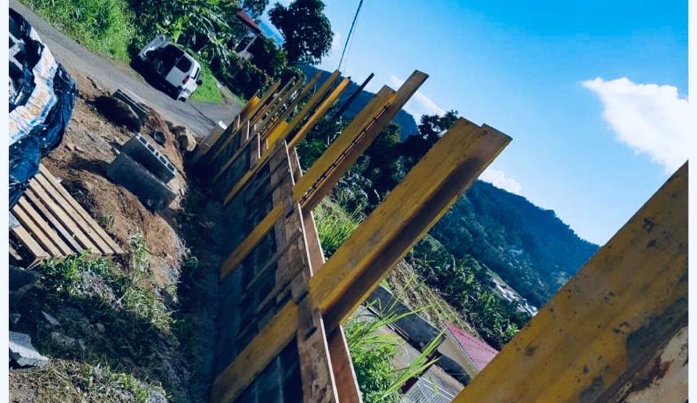 Réalisation d'une clôture - Photo 2