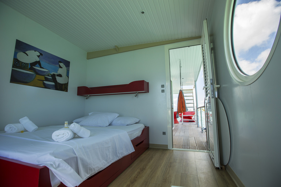 Villa 2 chambres sur l'eau Guadeloupe / Martinique