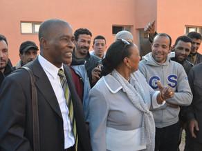 En visite à Marrakech, inauguration d'un prototype conçu par un ingénieur guadeloupéen