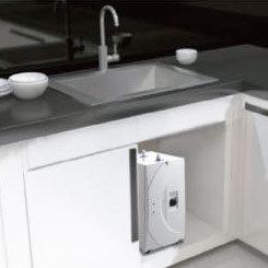 Fontaine à eau encastrable sous évier | eau chaude & eau fraiche