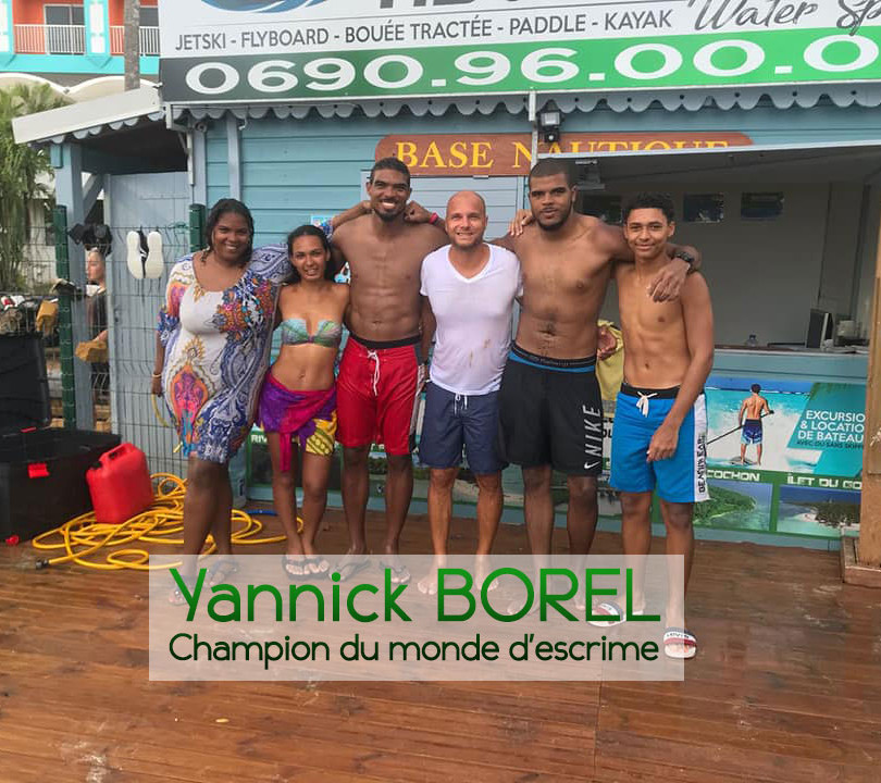 Merci à Yannick BOREL