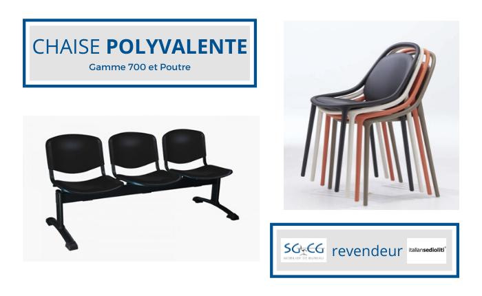 SGCG - Chaise de bureau - chaise polyval