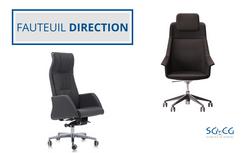 SGCG- Chaise de bureau fauteuil directio