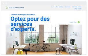 Modèle site internet beeliz entreprise d