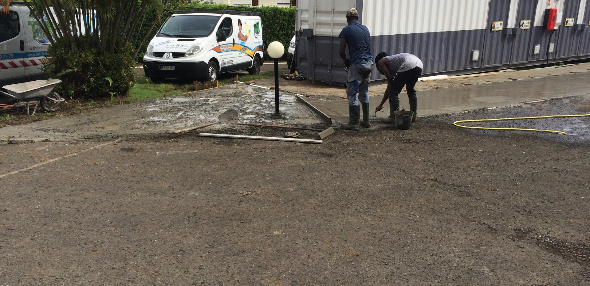 Aménagement professionnel  8 ESO BTP - Travaux de construction et rénovation - Guadeloupe