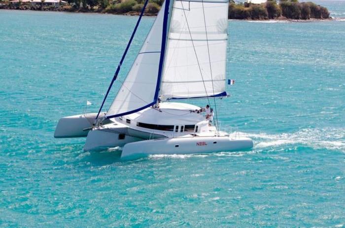 Trimaran-neel-45-Antilles-Sail-Guadeloup