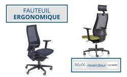 SGCG - Chaise de bureau - fauteuil ergon