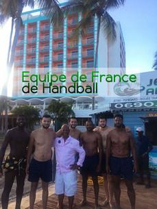 Merci à l'équipe de France de Handball