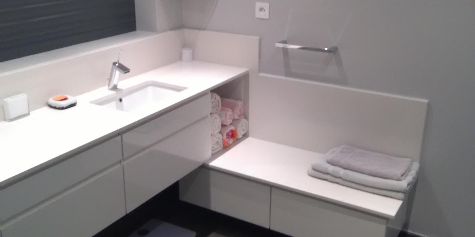 Salle de bain 3 - Nb Desginer- Agencement intérieur en Guadeloupe