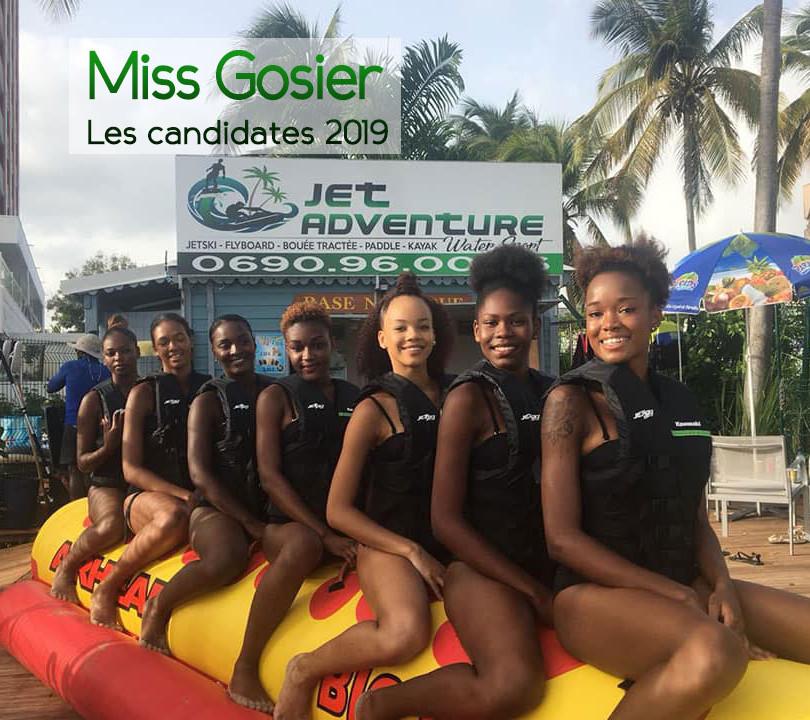 Merci aux candidates de Miss Gosier