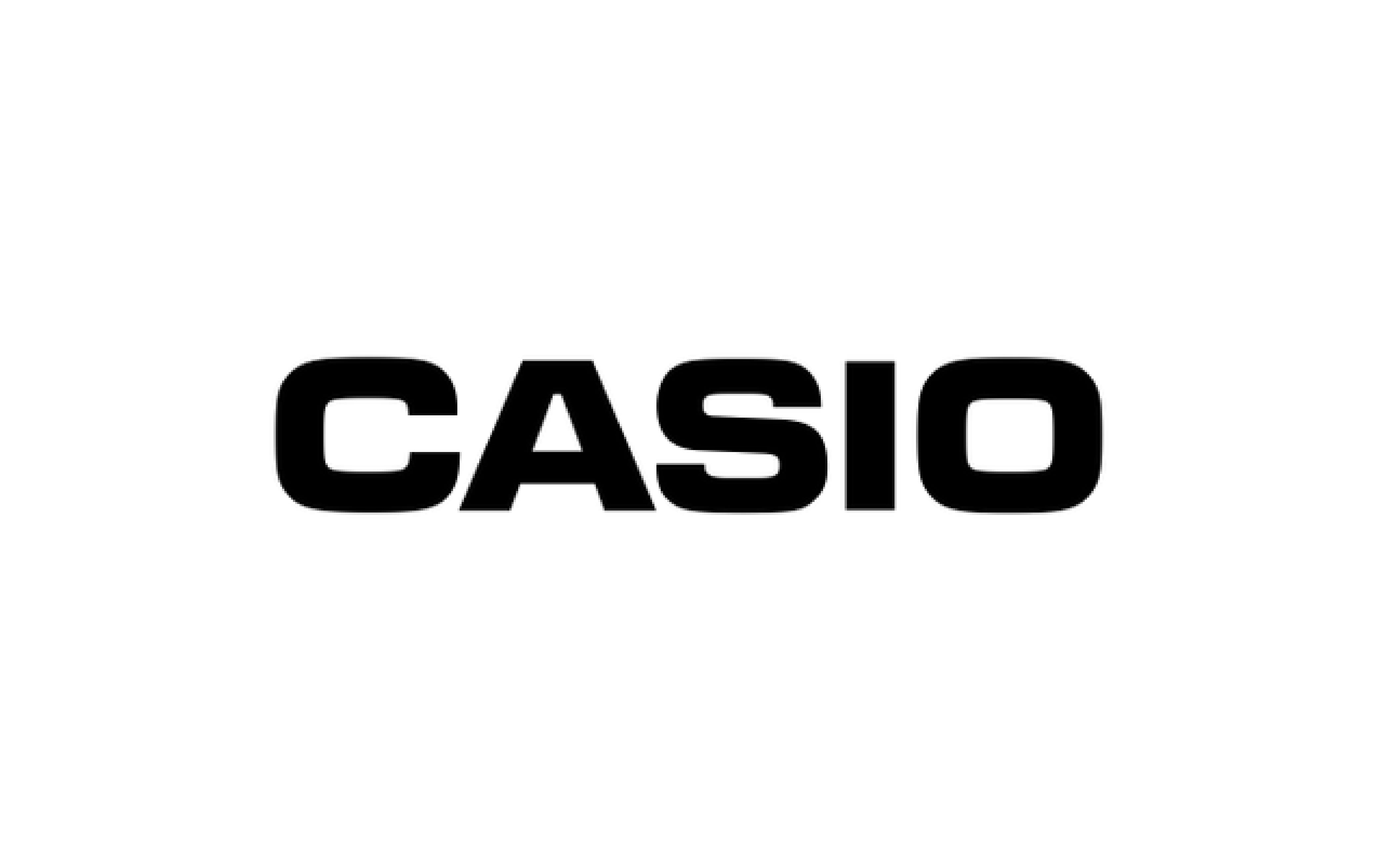 Casio - Marque partenaire SGCG