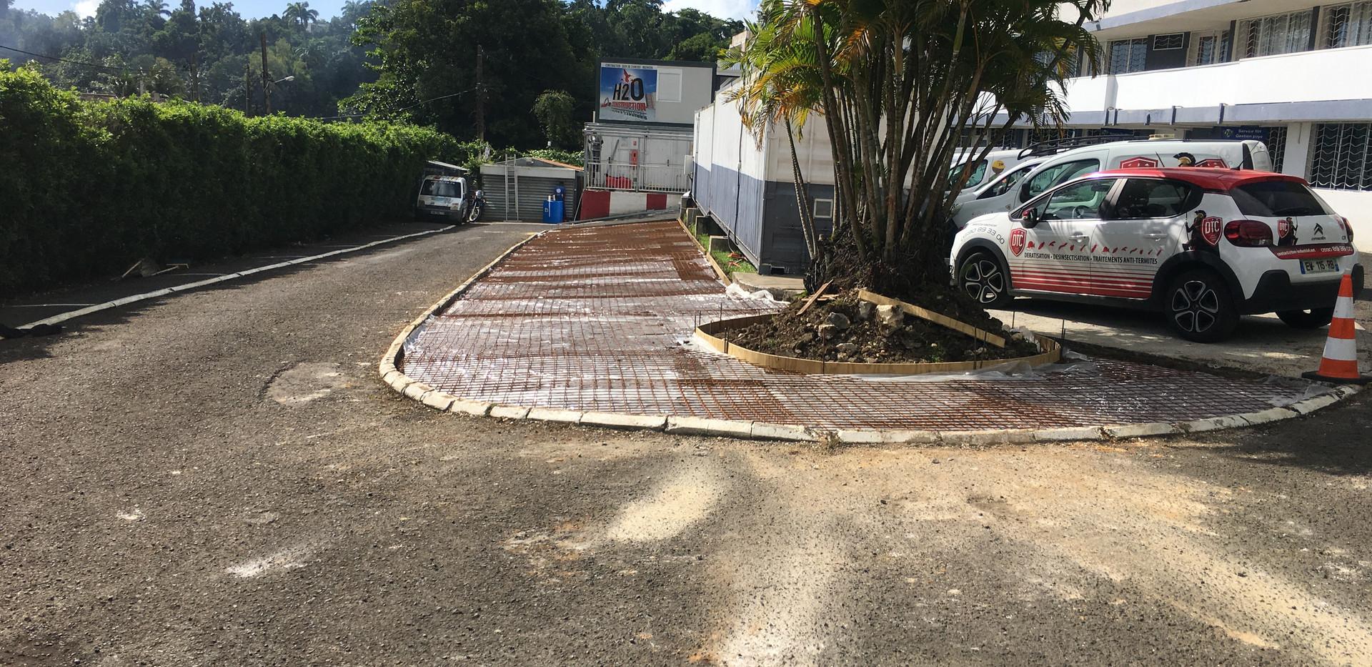 Aménagement professionnel  10 ESO BTP - Travaux de construction et rénovation - Guadeloupe