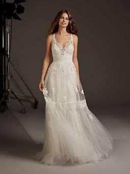 CRESSIDA Robes de mariées - Pronovias - Mariage - Wedding - Jarry - Guadeloupe