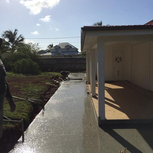 Rampe accès handicapé EsoBTP - Constuction Rénovation - Travaux Guadeloupe
