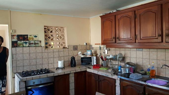 Rénovation cuisine - Photo avant travaux