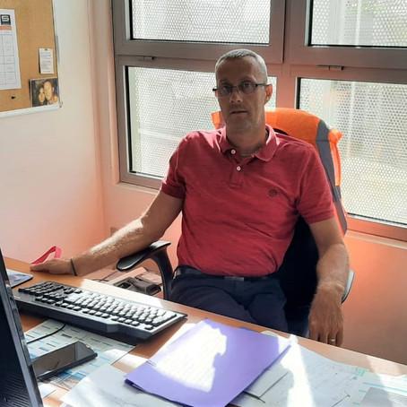 Cédric Vogt, Responsable d'exploitation pour l'aéroport Pôle Caraïbes