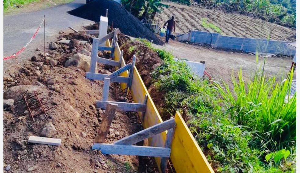Réalisation d'une clôture - Photo 1