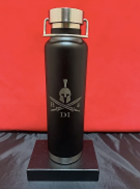 B4DI Laser Engraved Water Bottle