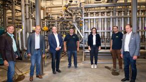 Besuch von Bundesministerin Köstinger
