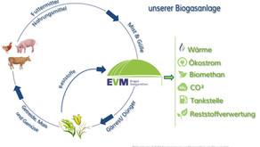 Der nachhaltige Kreislauf unserer Biogasanlage