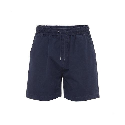 Shorts Twill Blue Navy