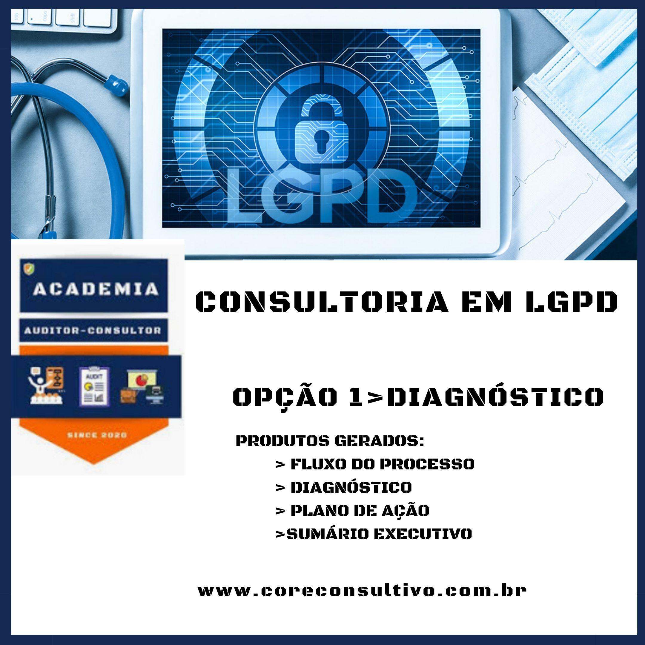 DIAGNÓSTICO_LGPD - LEI DE DADOS PESSOAIS