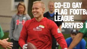CO-ED Gay Flag Football League Arrives in RI