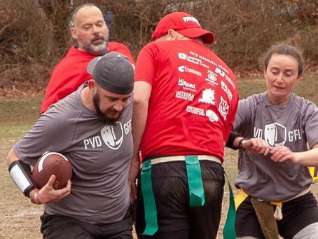 New England Patriots Sponsor PVD Gay Flag Football League