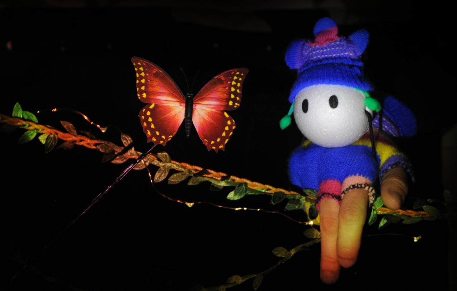 """""""Lo"""" y la mariposa"""