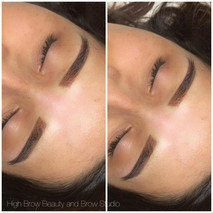 Powdered Ombre Brows