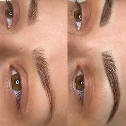 Ombre Powdered Brows