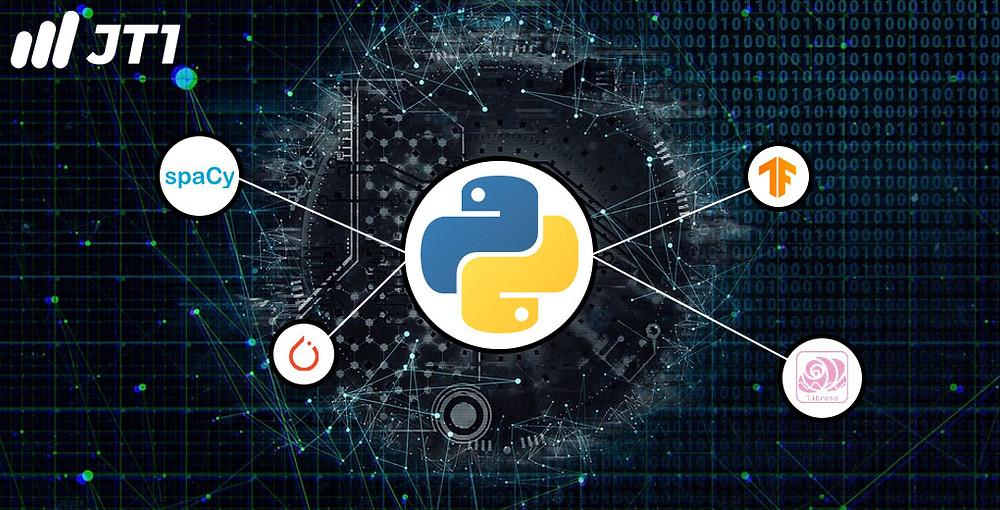 Python có nhiều khung và công cụ mã mở