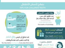 عيادات السعبري التخصصية -نصاىح لاسنان الاطفال- عياداتنا ترحب بكم يسعدنا تواصلكم 07800066208