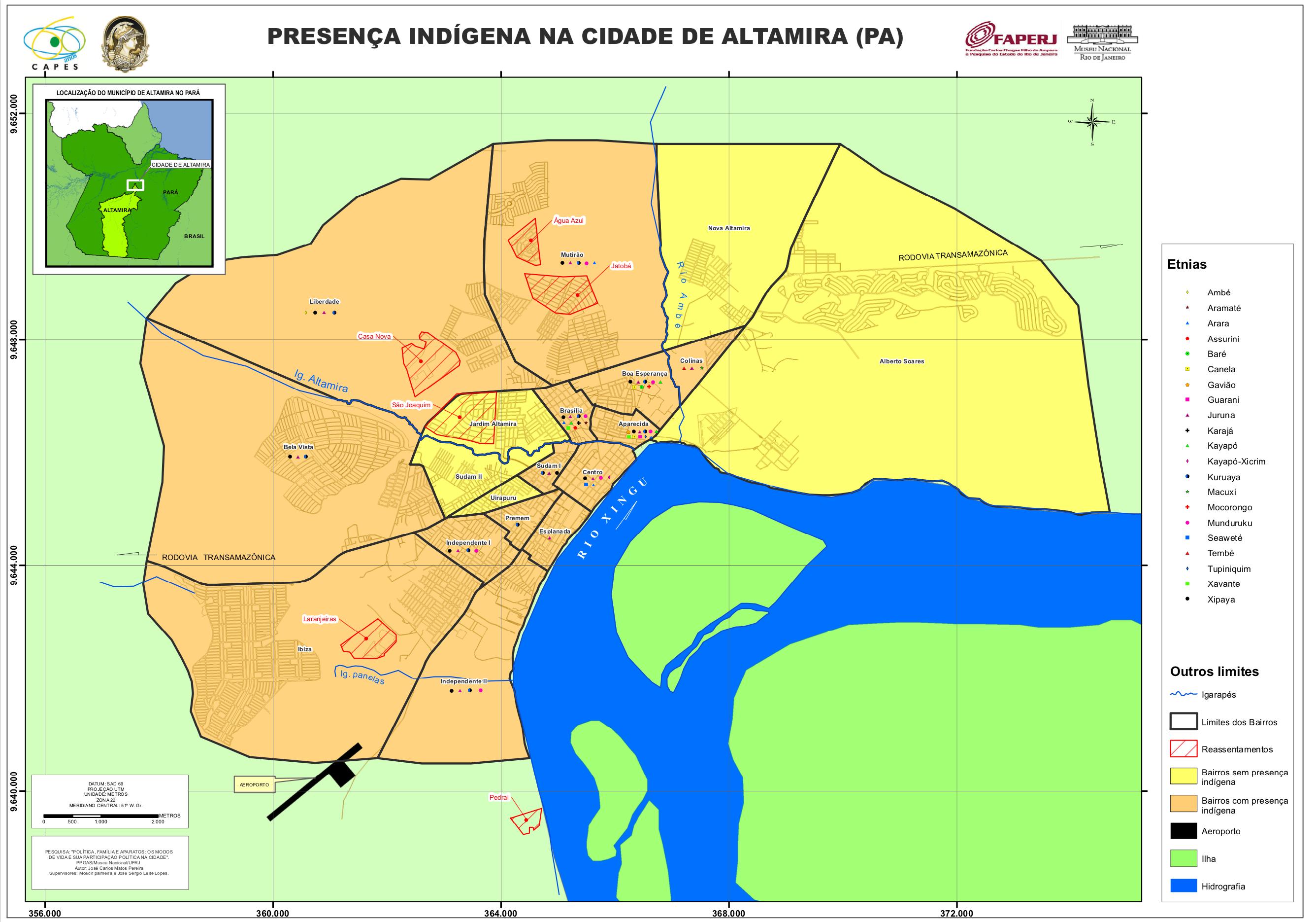 Altamira Mapa