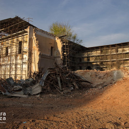 La Nostra Piazza, demolizione