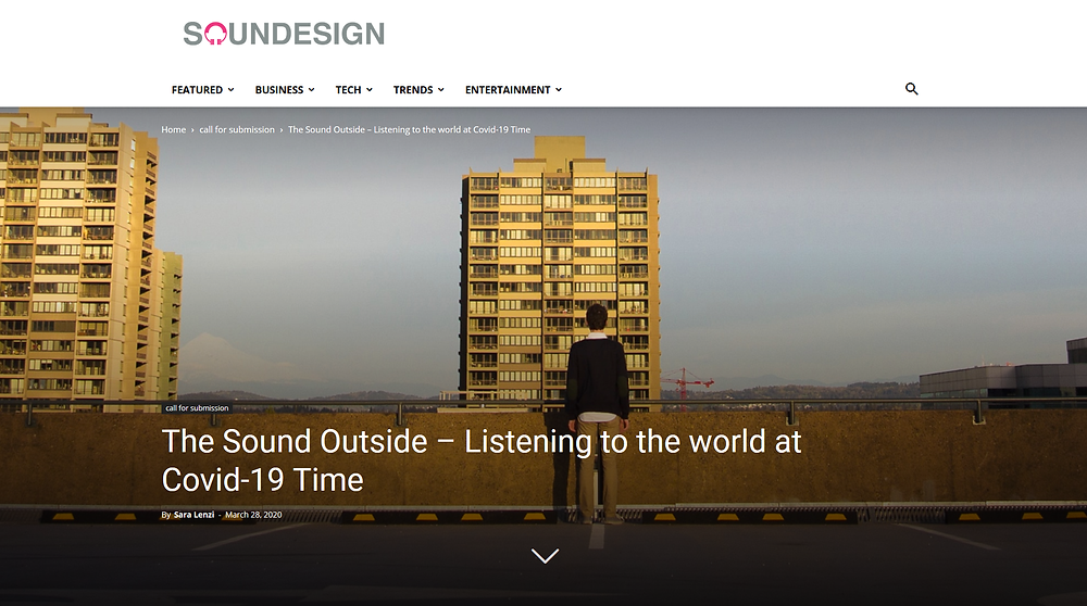 Soundesign.info - #TheSoundOutside