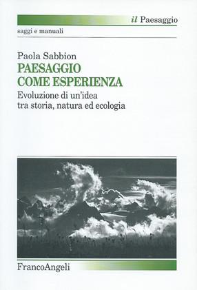 """Libro: """"Il paesaggio come esperienza"""""""