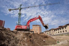 La Nostra Piazza, l'avvio degli scavi