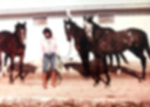 Janet and horses.JPG