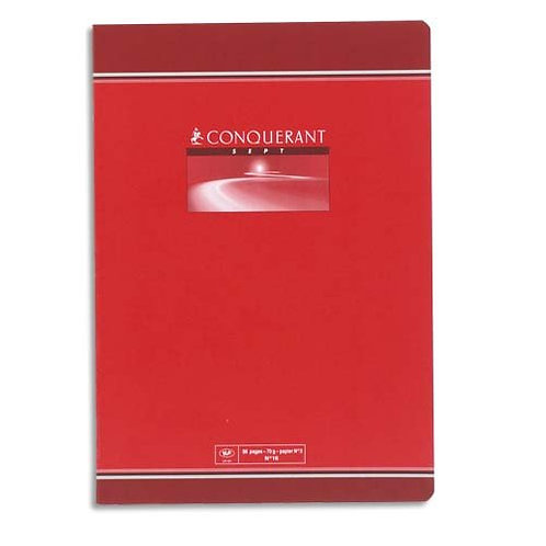 CAHIER AGRAFE 240x320 48 PAGES 70G SEYE