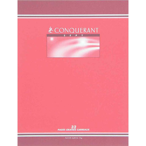 CAHIER AGRAFE 170x220 32 PAGES 70G SEYES 3MM