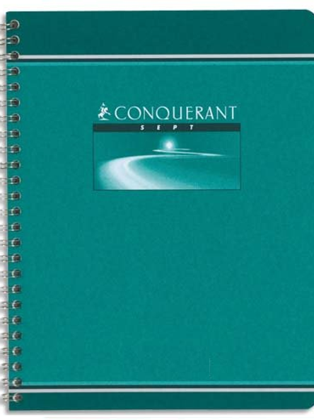 CAHIER SPIRAL RELIURE INTEGRALE 170x220 180 PAGES 70G SEYES
