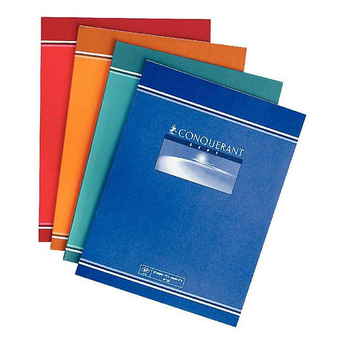 CAHIER ECRITURE AGRAFE 170x220 32 PAGES 70G DL 3/10