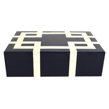 blue decor box