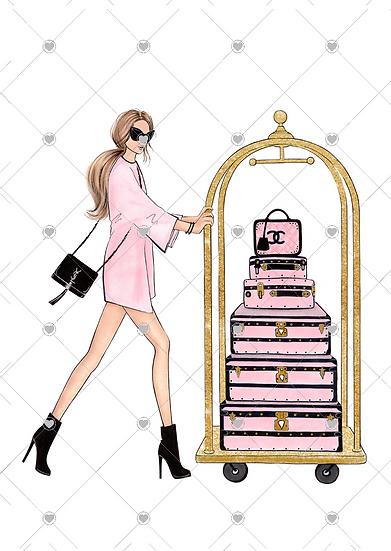 fashion print luxury